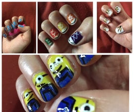 beginners nail art