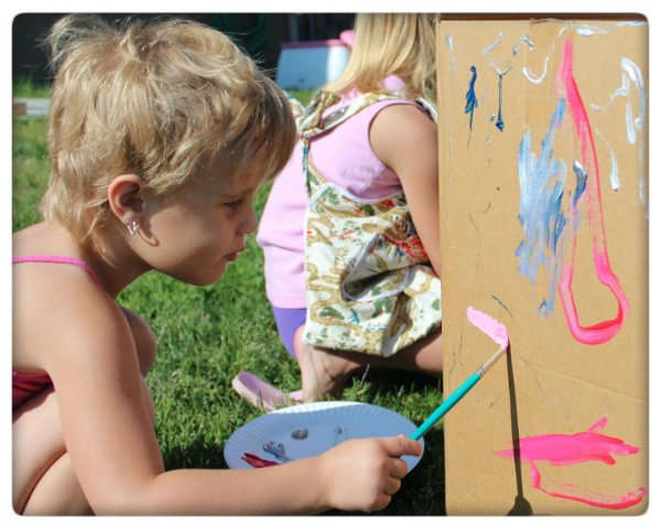 Picture of (Optional) Let the Kids Paint the Box
