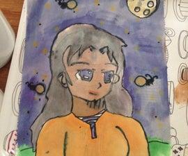 Manga (female head)