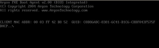 PXE Network Boot
