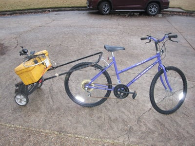 Simple Bicycle Trailer