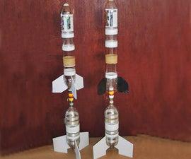 Water Rocket 2-Stage Mechanism