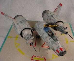 Kit Bashing an ATF (All Terran Fighter)