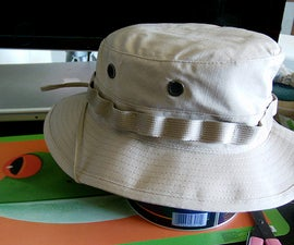 Boonie Hat Secret Compartment