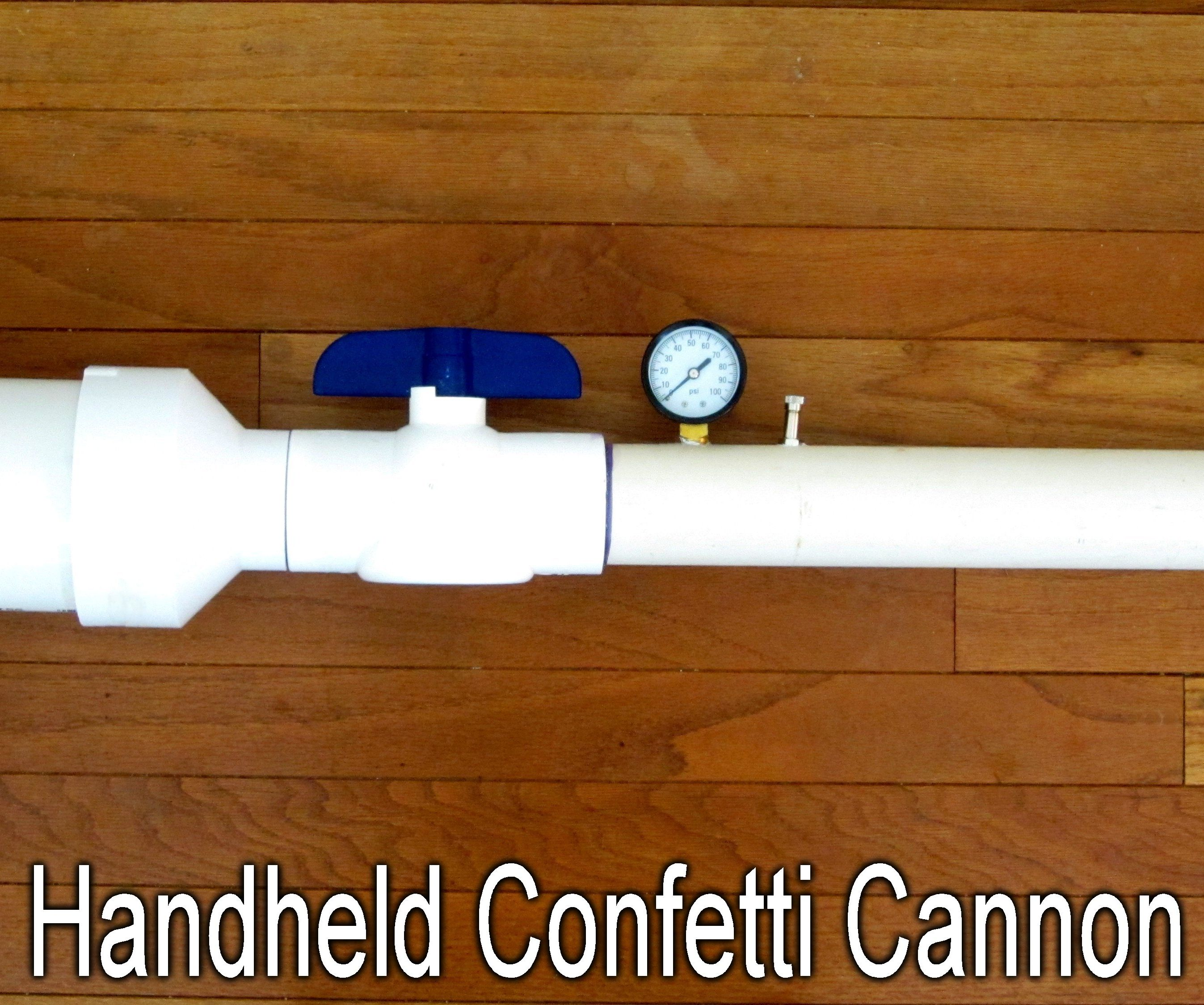 Handheld Confetti Cannon 10 Steps With Pictures