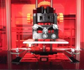 RooBee One - SLA DLP Aluminum Frame 3D Printer