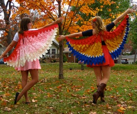 NattyJane's Birds of a Feather Costume Tutorial