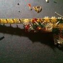 Powerfull K'nex Handgun (slingshot)