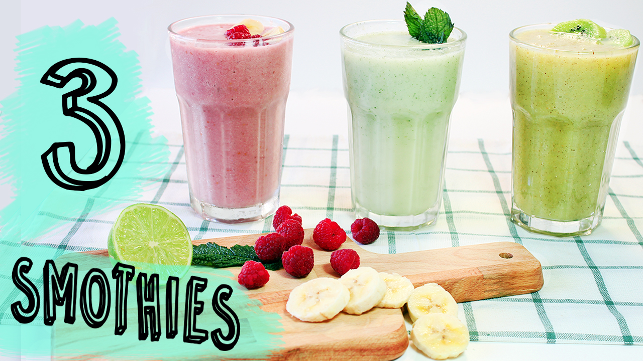 Picture of 3 Easy and Healthy Smoothies