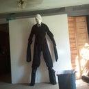 Slender Man Costume on stilts