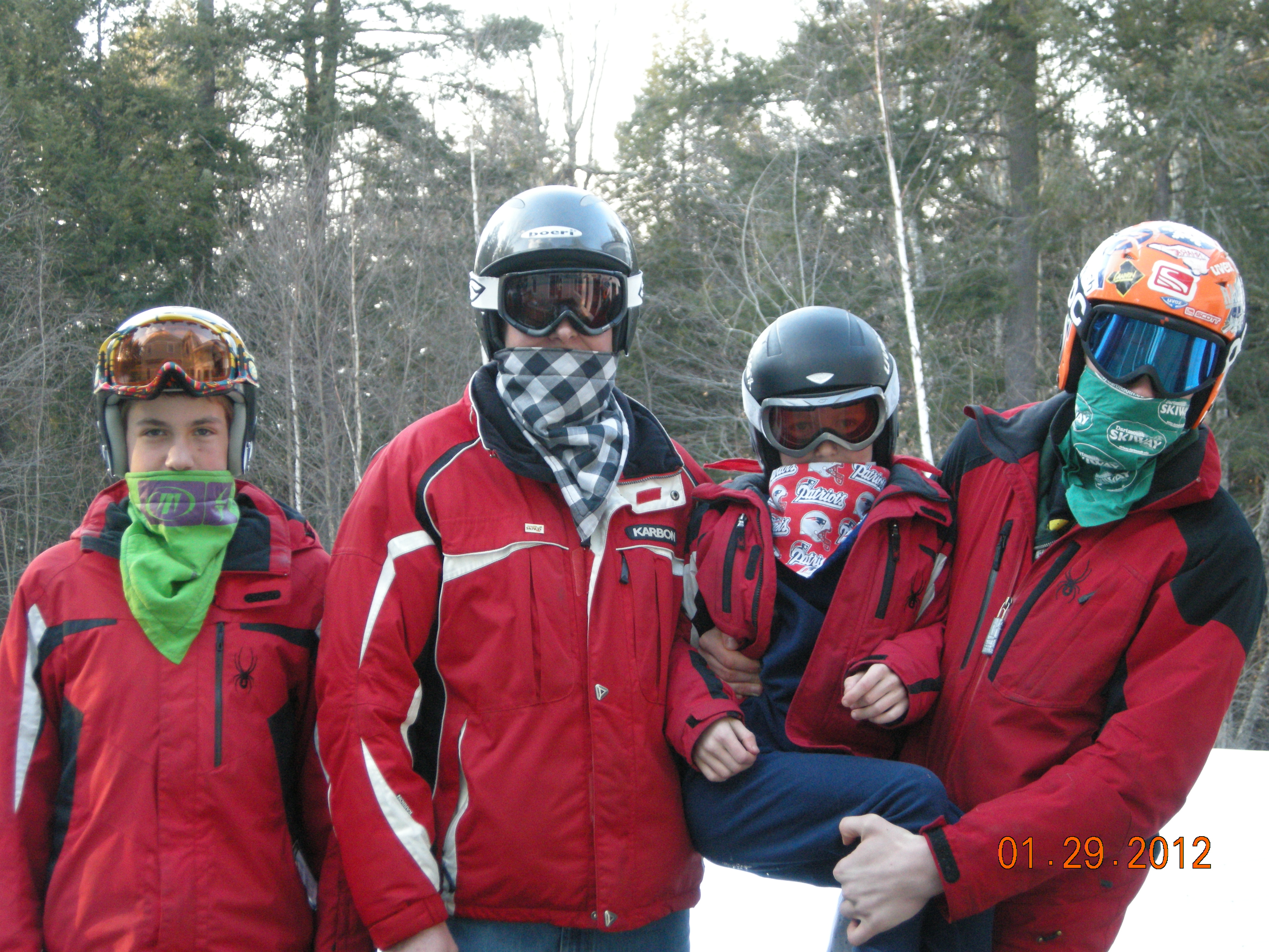 Picture of Fleece Lined Bandanas:  How to Prevent Frostbite While Enjoying Snow Sports