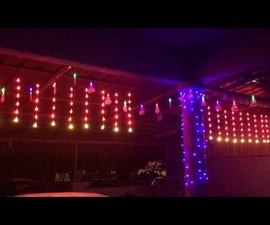 Raspberry Pi Lightshow with Blynk Control
