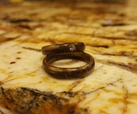Make a Wooden Ring With a Drill Press
