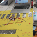 Makey Makey Portable Keyboard for Picture Book Sounds