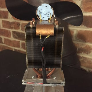 DIY Wood Stove Fan for Under $50 - Instructables