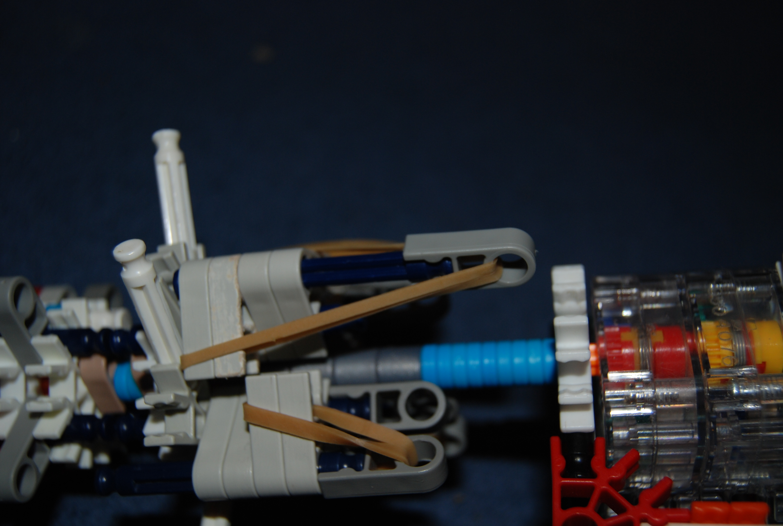 Picture of K'nex Hand Gatling Gun