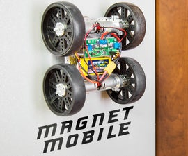 The MagnetMobile: Making a Wall Crawling Rover
