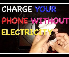 Charge your phone with DC Motor