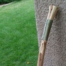How to make a Leather Handle for a walking stick