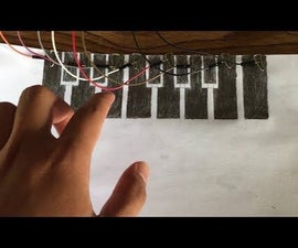 Paper Piano With Arduino