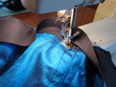 Sew the Top Facing