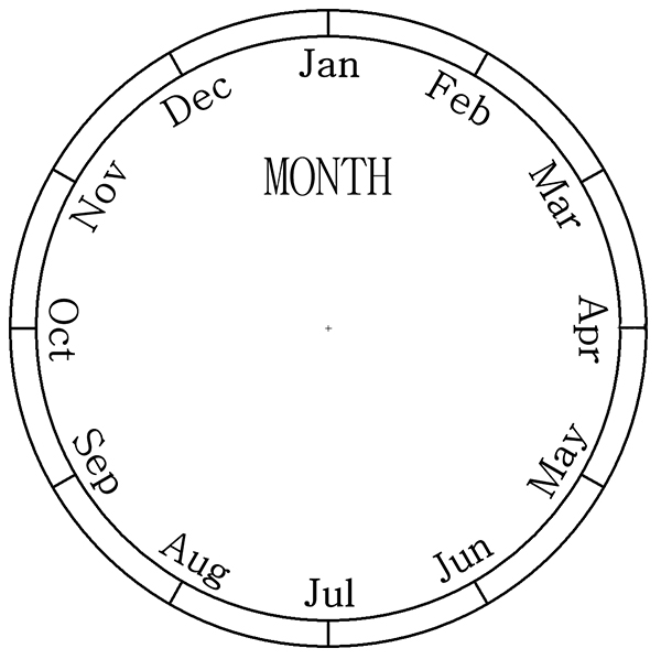 Picture of Month Dial