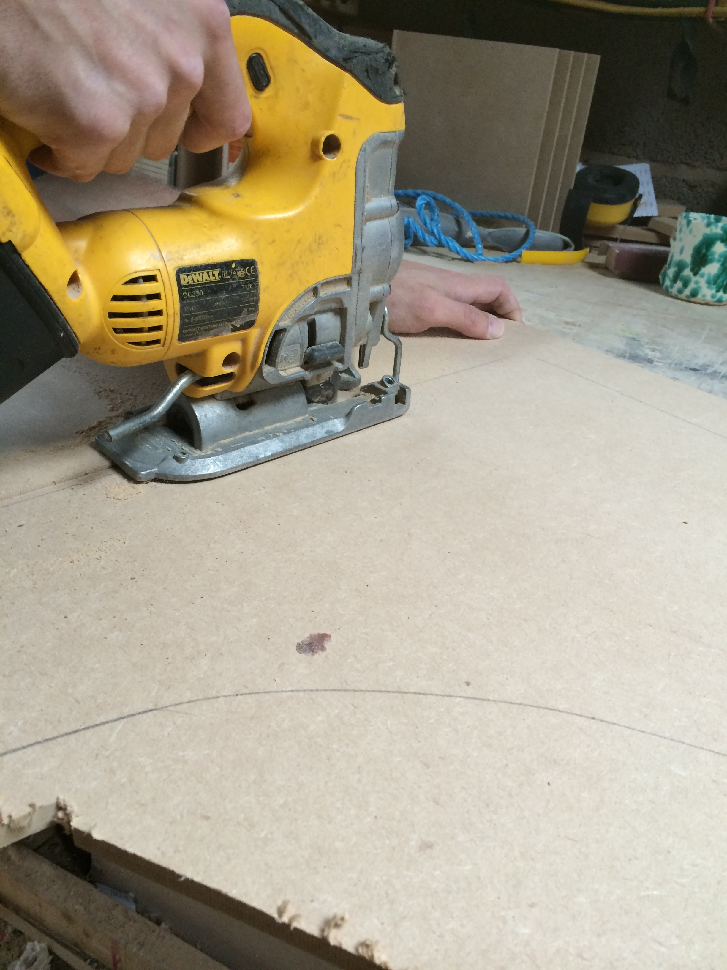 Picture of Cutting the Panels Pt.2
