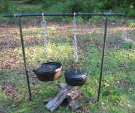 Chuckwagon Campfire Cooking Rack