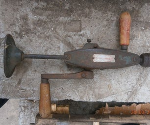 How To Bring Old Hand Drill Back To Life