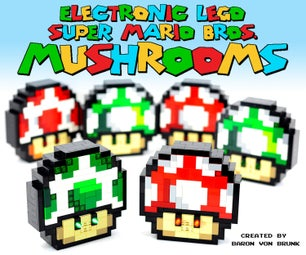 Electronic LEGO Super Mario Bros. Mushrooms