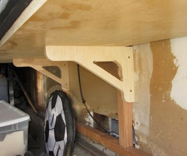 Strong CNC Shelf Brackets for 87 Cents