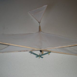 The Flying Scrooge: Ornithopter of Household Items