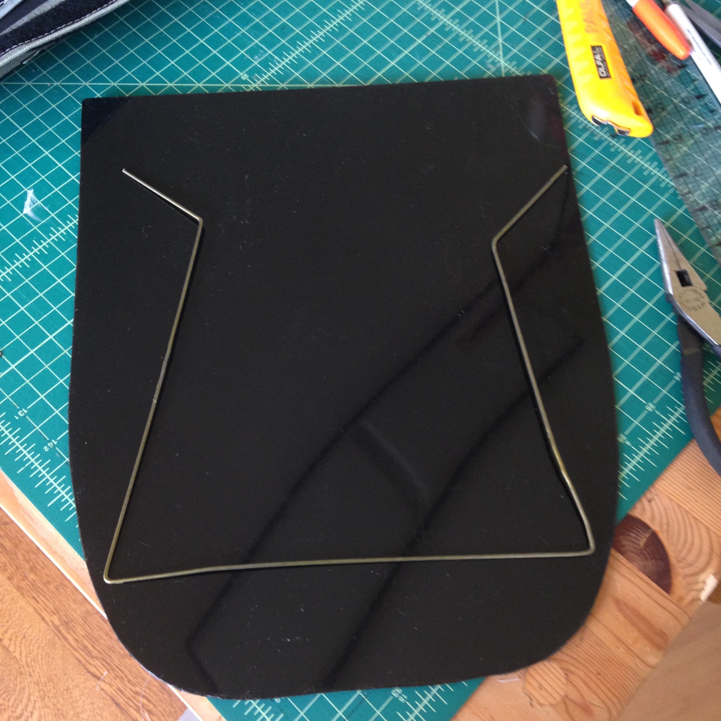 Picture of Cut the Plastic Panel and Add to Your Pannier