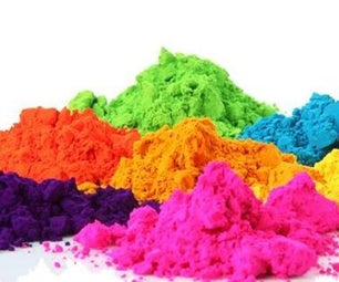 Holi-DIY Natural Colors