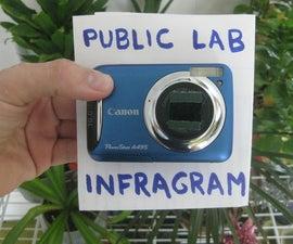 Turn a Canon camera into a Plant Health Analyzer using Public Lab's DIY Infragram