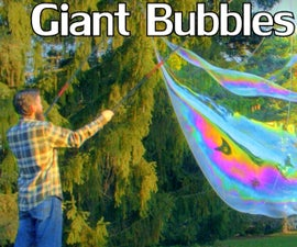 How to Make Giant Bubbles w/Guar Gum