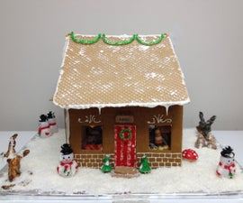 Gingerbread Bakery (Dollhouse Style)