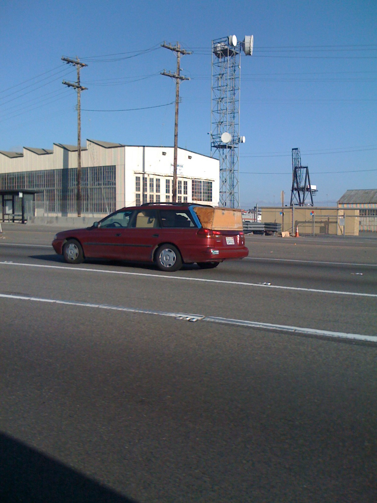 Picture of DIY Hatchback Subaru Legacy