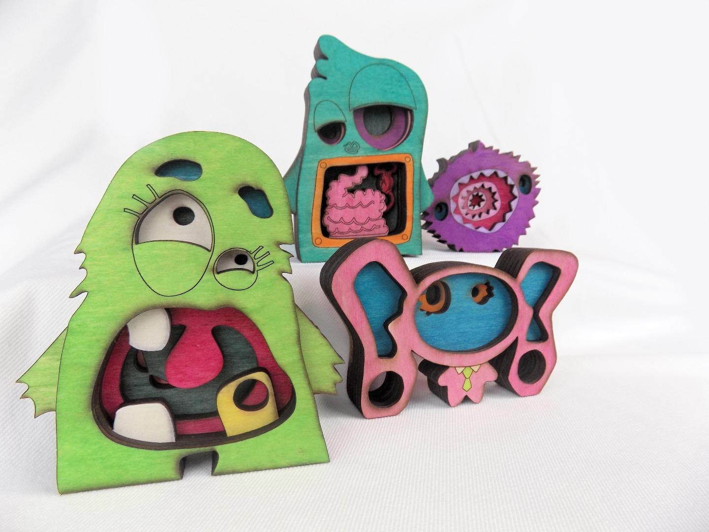 Picture of DIY Designer Art Toys