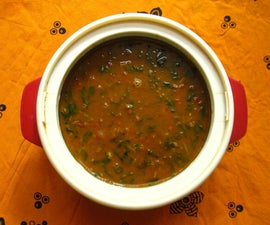 Cooking a Tasty Stew With Fenugreek Leaves