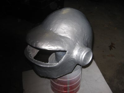 Painting, and More Sanding, Visor