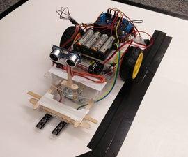 Arduino Autonomous Line Following Robot