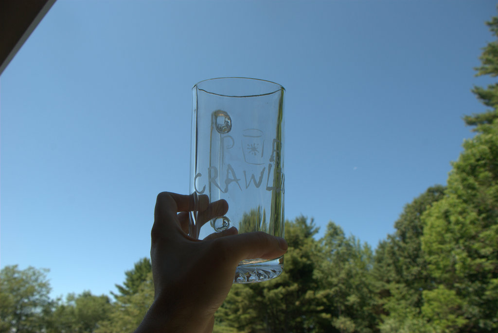 Picture of Etching Glass With a Sandblaster
