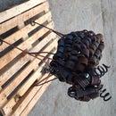 Recycled scrap metal sheep // Mark II
