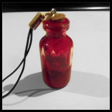 Picture of Bloody Bottle Charm *Easy DIY*