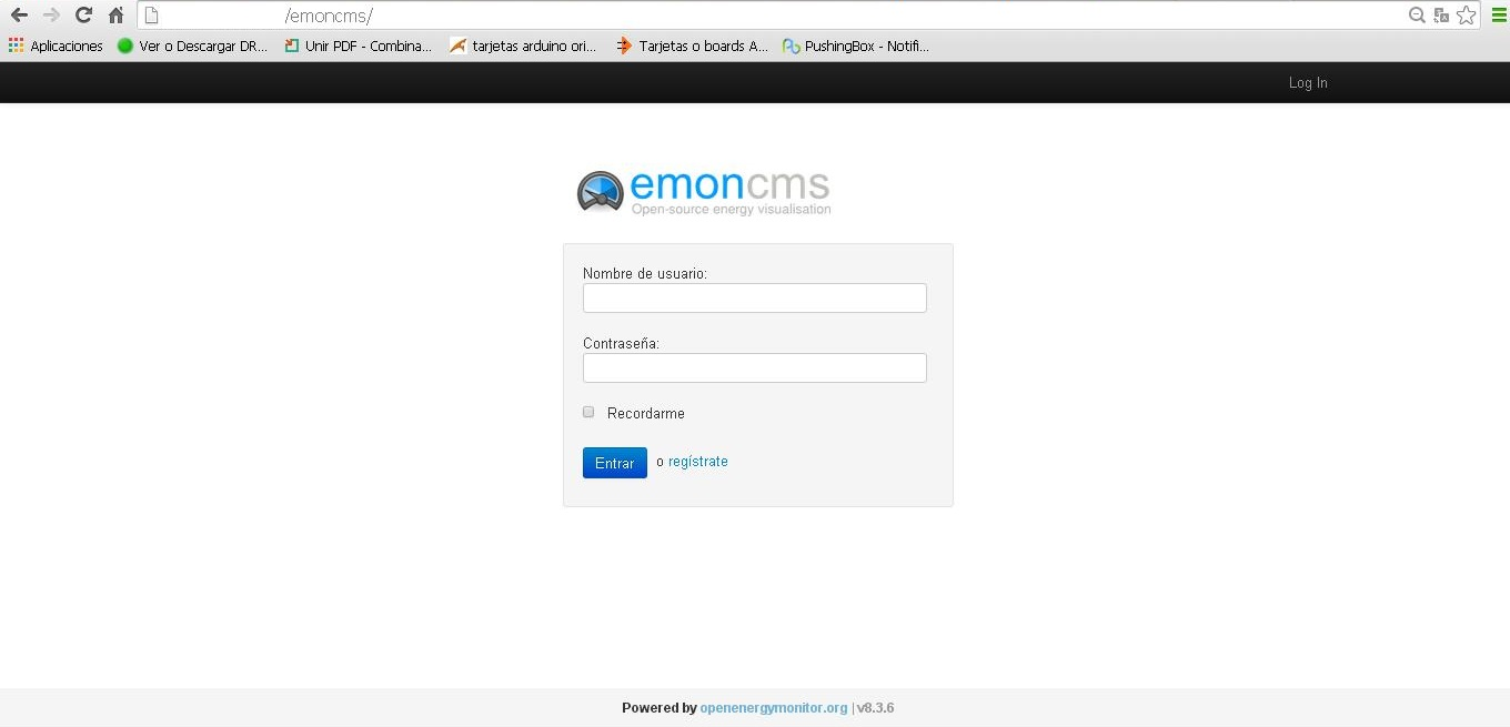 Picture of Some Views of Emoncms...