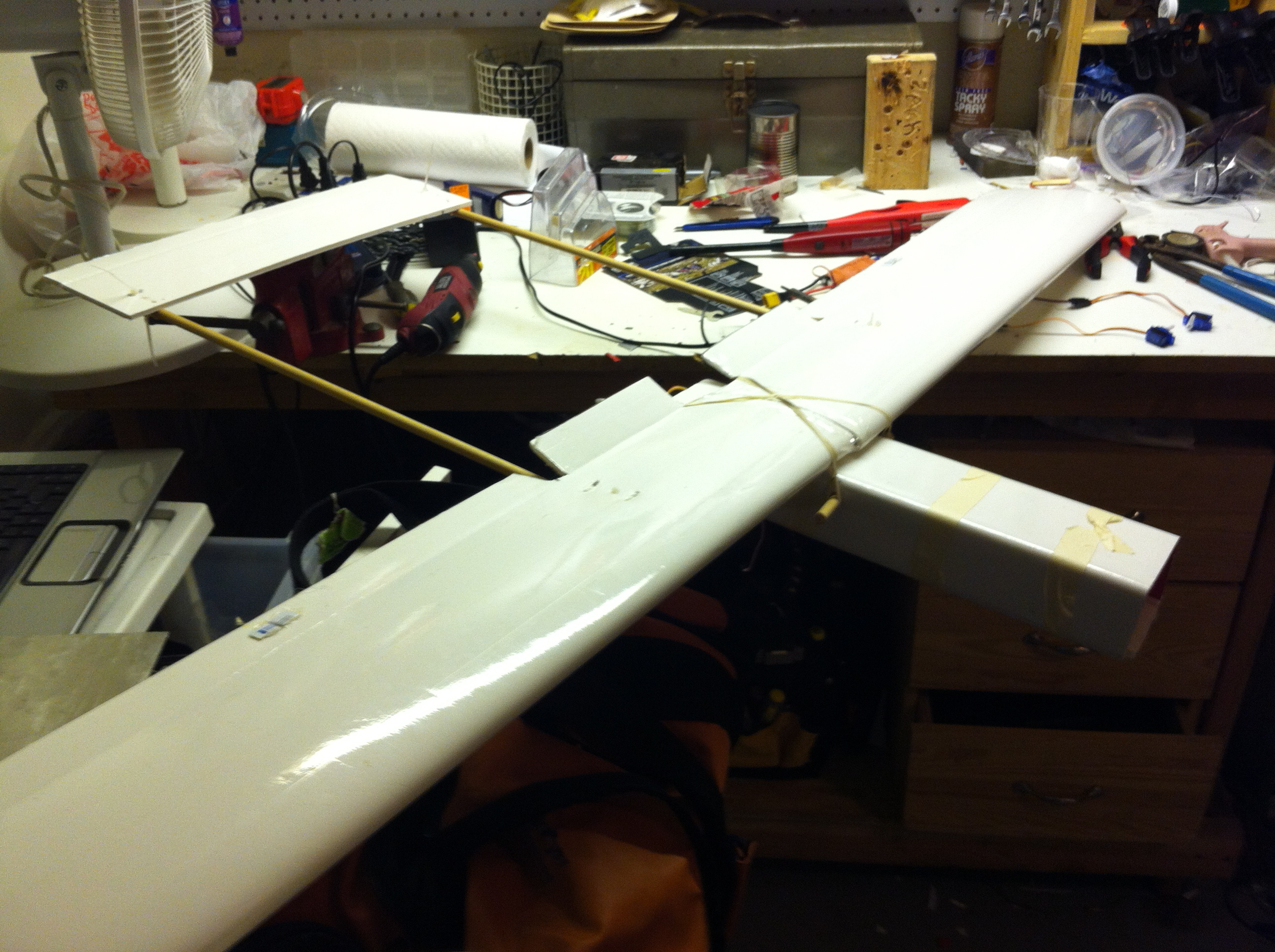 Picture of Airframe Finished!