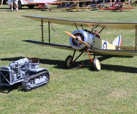 WW1    1/3 Flying museum quality 1/3 scale Sopwith Pup