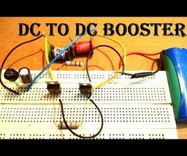 DC to DC Voltage Step-up Booster Circuit 90V (High Efficiency)