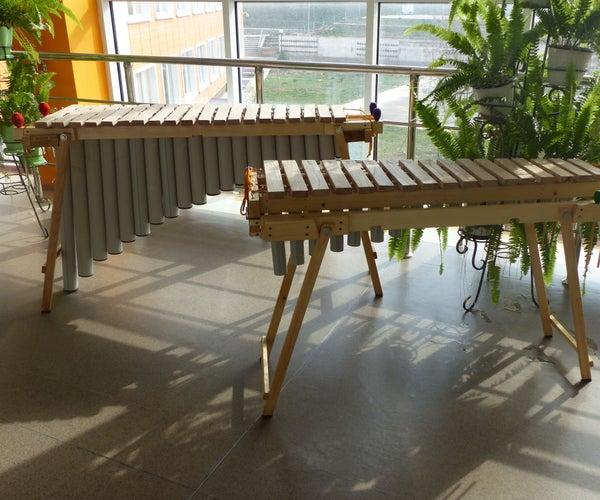Making an African Marimba